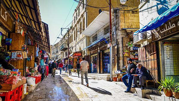 شارع الحمام - السلط